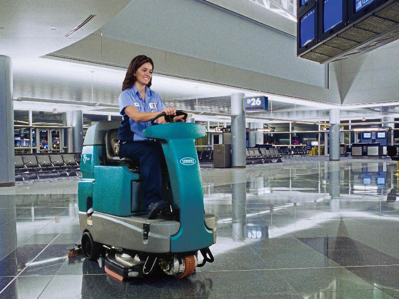 驾驶式洗地机-商场保洁必备工具