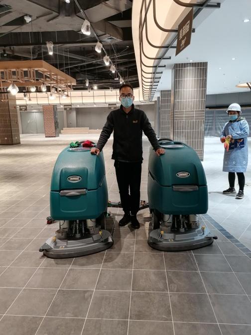 商场洗地机