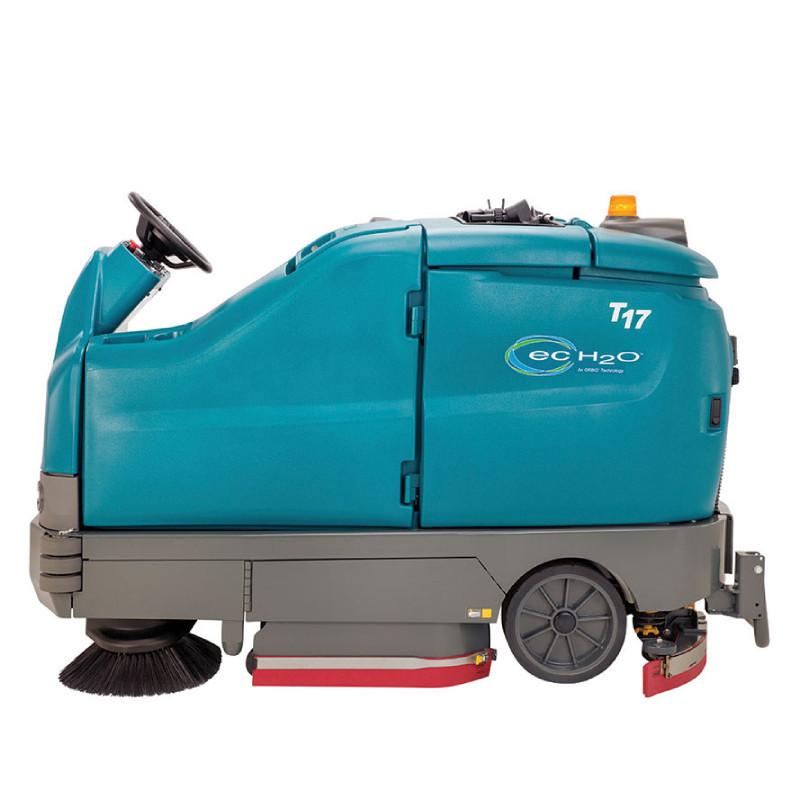 坦能驾驶式洗地机t17-left-side