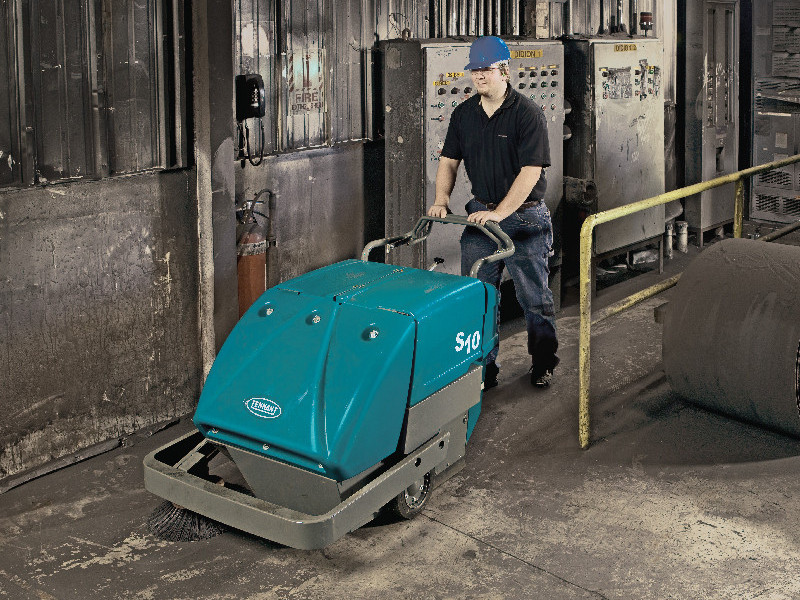 地面清洁用工业扫地机