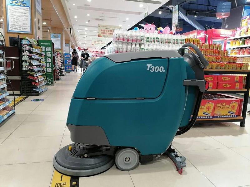 超市洗地机