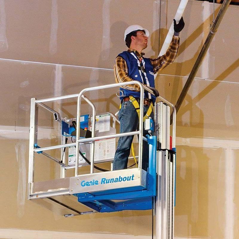 桅杆式高空作业平台gr-20-1