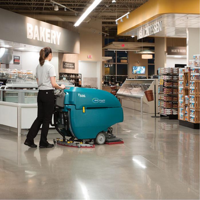 坦能手推式洗地机t500e-4
