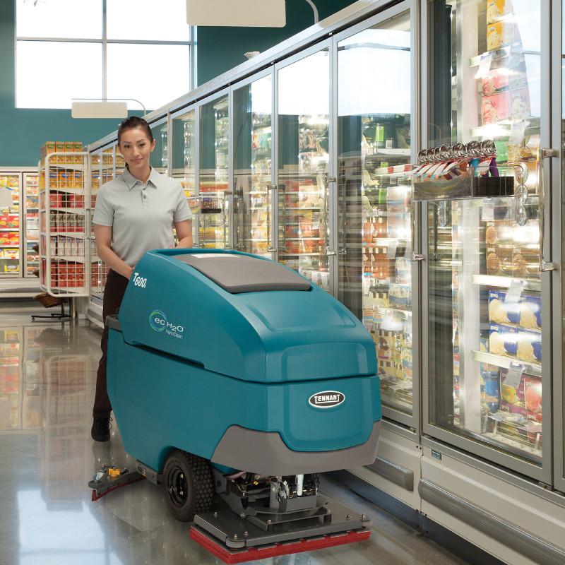 坦能手推式洗地机t600e-1