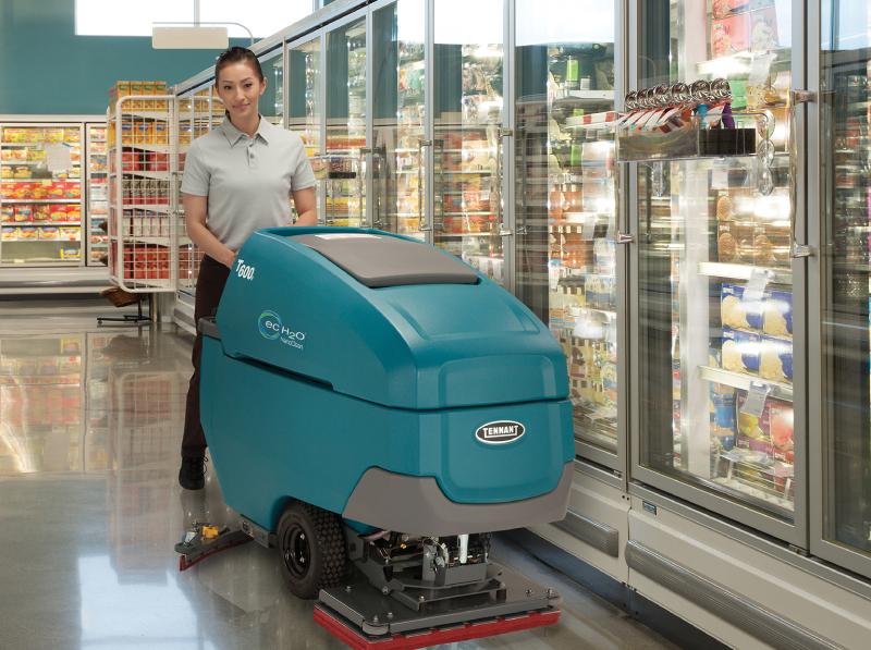 坦能手推式洗地机T600e