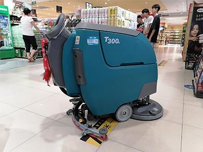 商超主要使用哪些洗地机