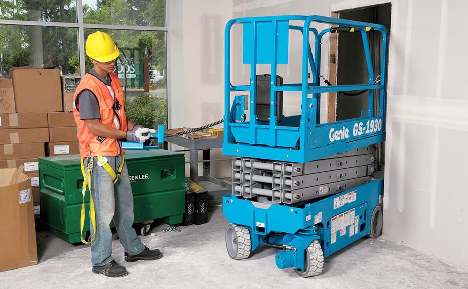 剪型高空作业平台GS-1532&GS-1532 电动