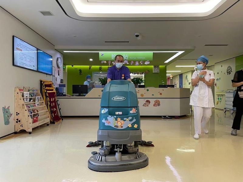 医院用洗地机