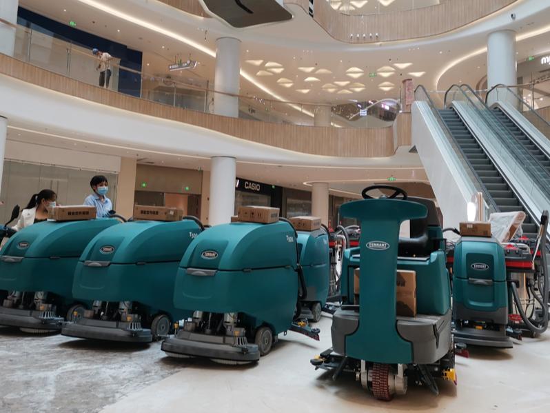 商场使用洗地机有哪些好处